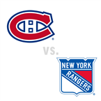 Montreal Canadiens at New York Rangers