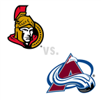 Ottawa Senators at Colorado Avalanche