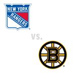 New York Rangers at Boston Bruins