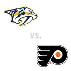 Nashville Predators at Philadelphia Flyers