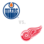 Edmonton Oilers at Detroit Red Wings