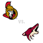 Ottawa Senators at Arizona Coyotes
