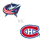Columbus Blue Jackets at Montreal Canadiens