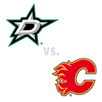 Dallas Stars at Calgary Flames
