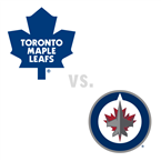 Toronto Maple Leafs at Winnipeg Jets