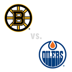 Boston Bruins at Edmonton Oilers
