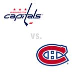 Washington Capitals at Montreal Canadiens