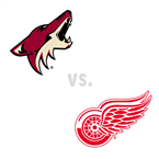Arizona Coyotes at Detroit Red Wings