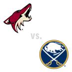 Arizona Coyotes at Buffalo Sabres