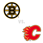 Boston Bruins at Calgary Flames