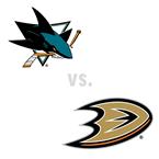 San Jose Sharks at Anaheim Ducks