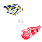 Nashville Predators at Detroit Red Wings
