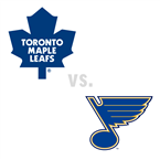 Toronto Maple Leafs at St. Louis Blues