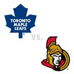 Toronto Maple Leafs at Ottawa Senators