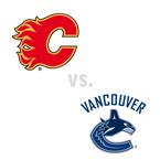 Calgary Flames at Vancouver Canucks