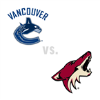 Vancouver Canucks at Arizona Coyotes