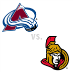 Colorado Avalanche at Ottawa Senators