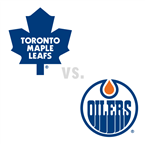 Toronto Maple Leafs at Edmonton Oilers