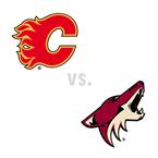 Calgary Flames at Arizona Coyotes