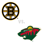 Boston Bruins at Minnesota Wild