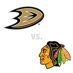 Anaheim Ducks at Chicago Blackhawks