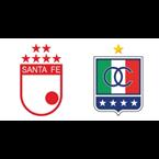 Santa Fe vs. Once Caldas (Semifinal Ida)