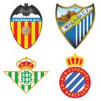 Valencia v Málaga / Betis v Espanyol