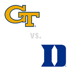 WBB: Georgia Tech Yellow Jackets at Duke Blue Devils