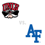 MBB: UNLV Rebels at Air Force Falcons