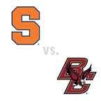 MBB: Syracuse Orange at Boston College Golden Eagles
