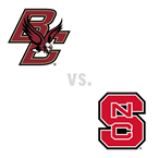 MBB: Boston College Golden Eagles at North Carolina St. Wolfpack