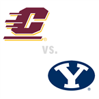 MBB: Central Michigan Chippewas at Brigham Young Cougars