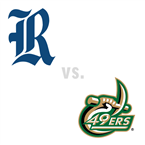 MBB: Rice Owls at Charlotte 49ers