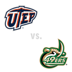 MBB: UTEP Miners at Charlotte 49ers