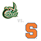 MBB: Charlotte 49ers at Syracuse Orange