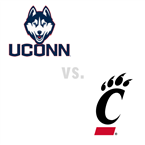 MBB: Connecticut Huskies at Cincinnati Bearcats