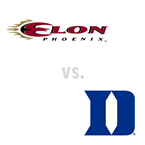 MBB: Elon Phoenix at Duke Blue Devils