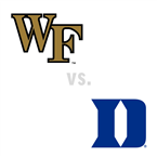 MBB: Wake Forest Demon Decons at Duke Blue Devils