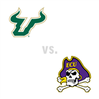 MBB: South Florida Bulls at East Carolina Pirates