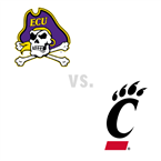 MBB: East Carolina Pirates at Cincinnati Bearcats
