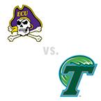 MBB: East Carolina Pirates at Tulane Green Wave