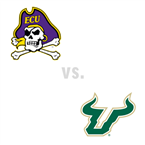 MBB: East Carolina Pirates at South Florida Bulls