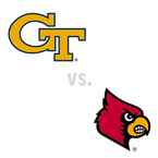 MBB: Georgia Tech Yellow Jackets at Louisville Cardinals