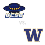 MBB: UC Santa Barbara Gauchos at Washington Huskies