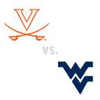 MBB: Virginia Cavaliers vs. West Virginia Mountaineers