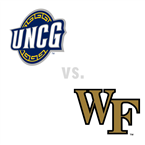 MBB: UNC Greensboro Spartans at Wake Forest Demon Deacons