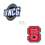MBB: UNC Greensboro Spartans at North Carolina St. Wolfpack