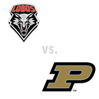 MBB: New Mexico Lobos at Purdue Boilermakers