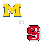 MBB: Michigan Wolverines at North Carolina St. Wolfpack