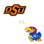 MBB: Oklahoma St. Cowboys at Kansas Jayhawks